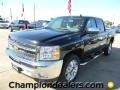 2012 Black Chevrolet Silverado 1500 LT Crew Cab  photo #1
