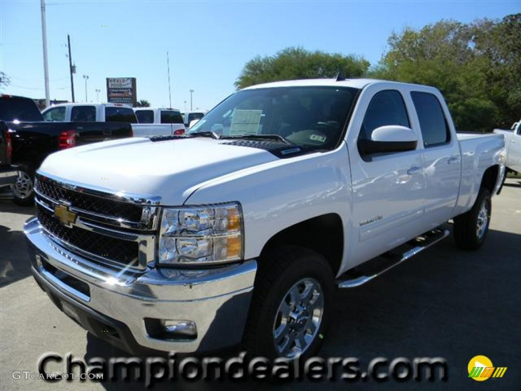 Summit white chevrolet silverado 2500hd