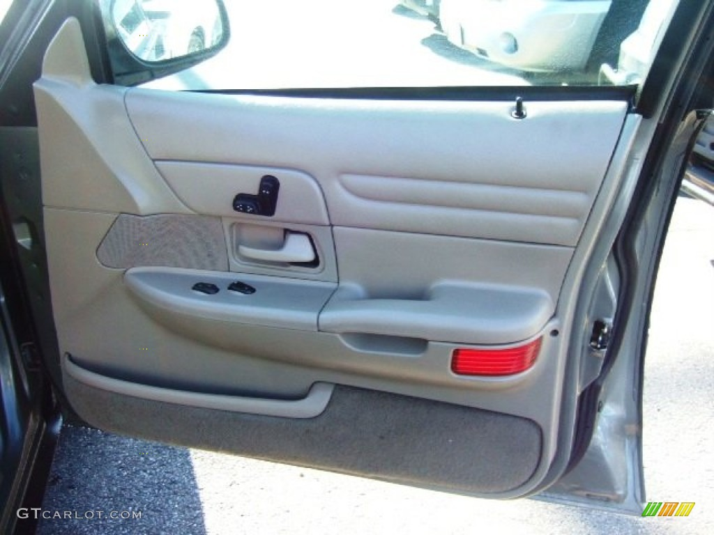 2000 Ford Crown Victoria Lx Sedan Medium Parchment Door Panel Photo 58072549