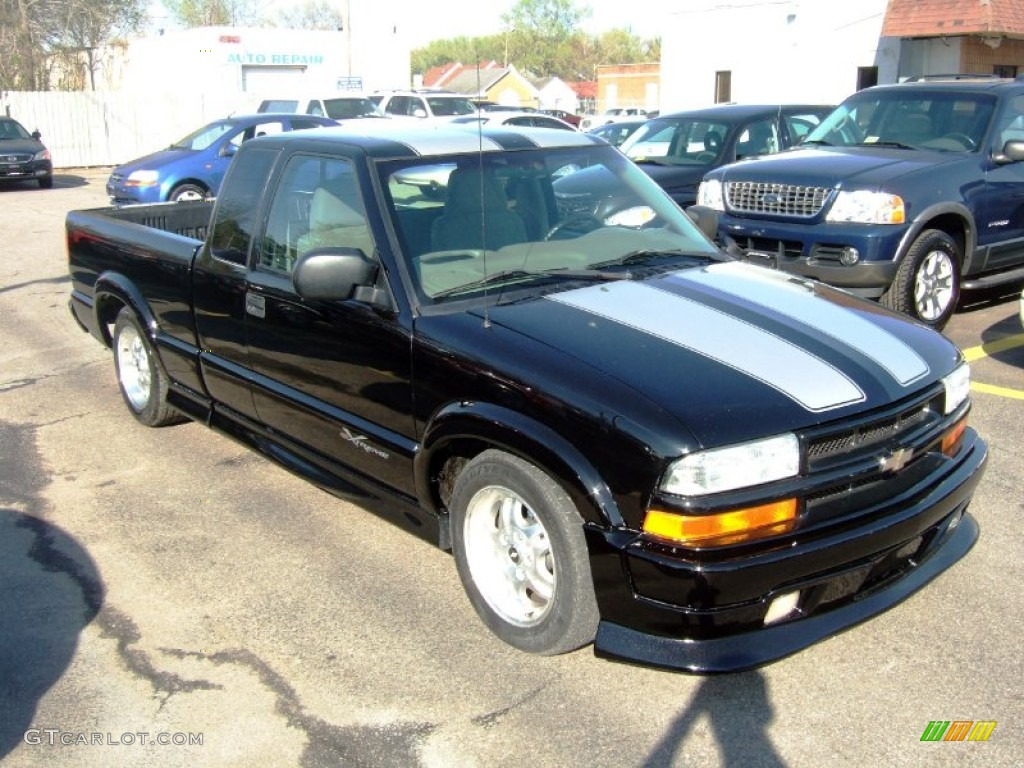 2003 black onyx chevrolet s10 xtreme extended cab 57875616 car color galleries. Black Bedroom Furniture Sets. Home Design Ideas