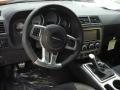 Dark Slate Gray Steering Wheel Photo for 2012 Dodge Challenger #58074148