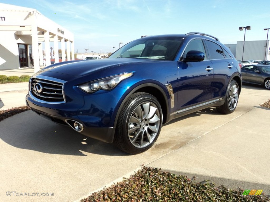 2012 iridium blue infiniti fx 35 awd limited edition 57875178 iridium blue infiniti fx vanachro Image collections