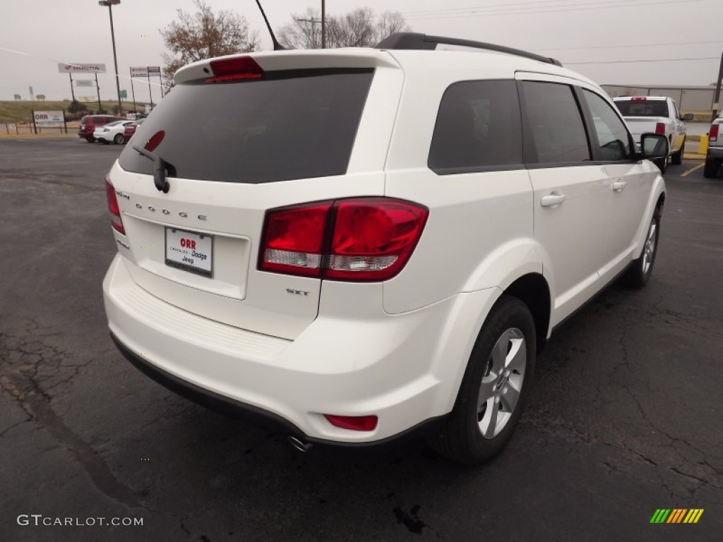 White 2012 Dodge Journey SXT Exterior Photo #58078748 | GTCarLot.com