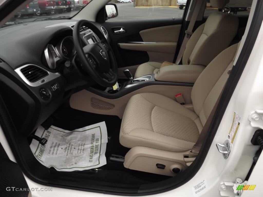 Black/Tan Interior 2012 Dodge Journey SXT Photo #58078808