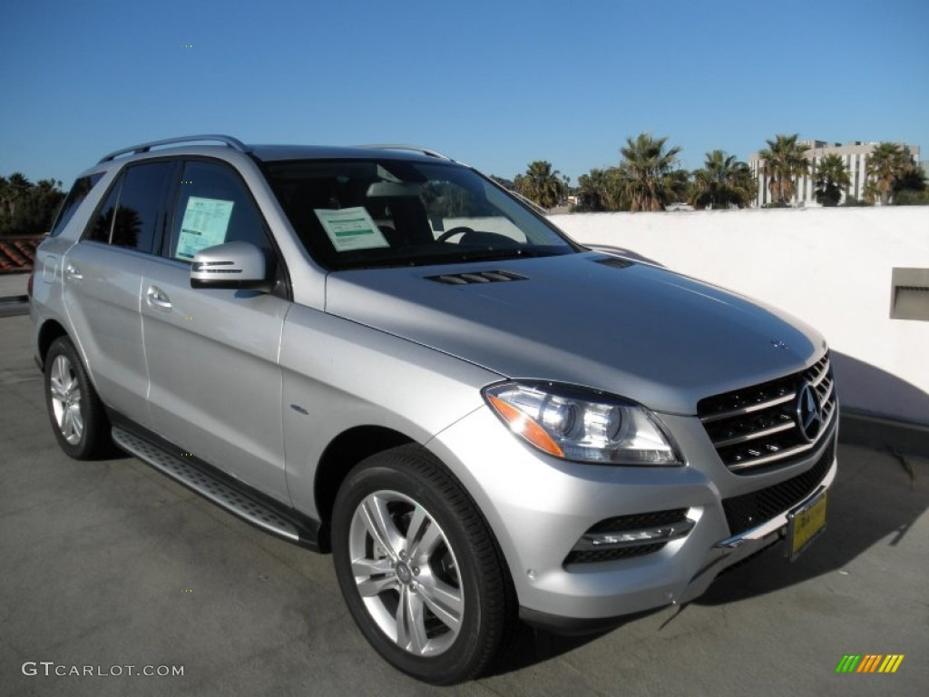 Iridium silver metallic 2012 mercedes benz ml 350 bluetec for Mercedes benz silver