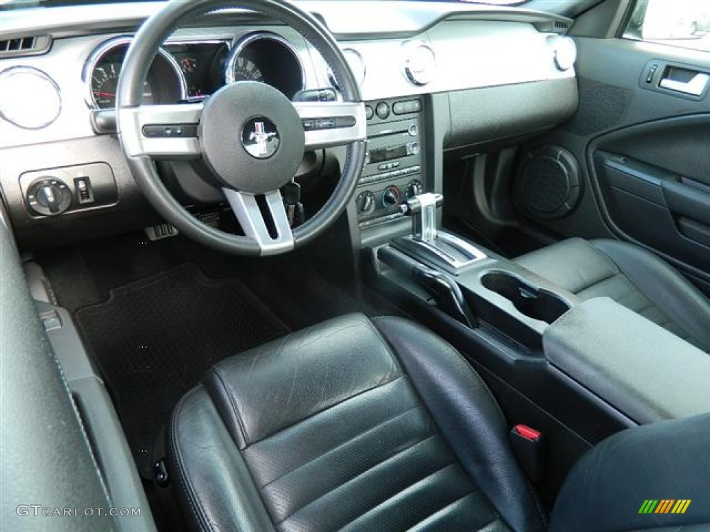 Dark Charcoal Interior 2008 Ford Mustang Gt Premium Coupe Photo 58086989