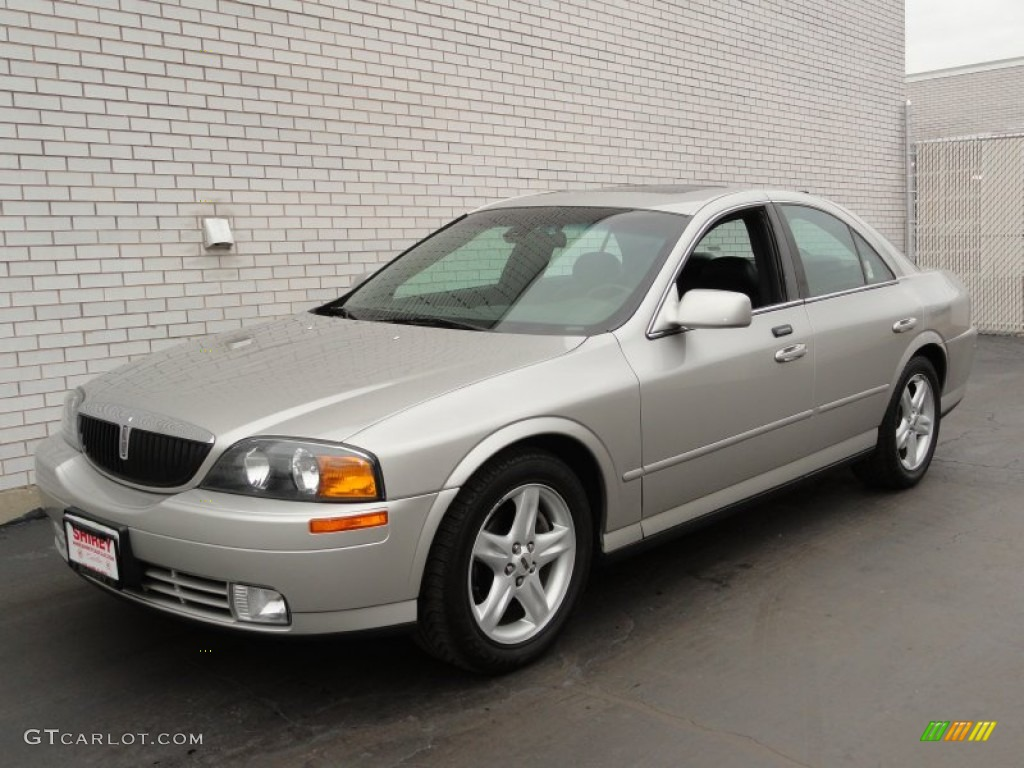 silver birch metallic 2002 lincoln ls v8 exterior photo. Black Bedroom Furniture Sets. Home Design Ideas