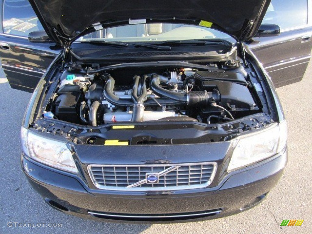 2004 Volvo S80 T6 T6 2.9 Liter Twin Turbocharged DOHC 24 Valve Inline 6 Cylinder Engine Photo #58094081