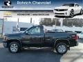 Onyx Black 2009 GMC Sierra 1500 SLE Regular Cab 4x4