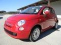 Rosso Brillante (Red) 2012 Fiat 500 c cabrio Pop Exterior