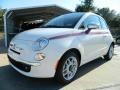 Bianco Perla (Pearl White) 2012 Fiat 500 Gallery