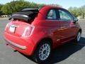 Rosso Brillante (Red) - 500 c cabrio Lounge Photo No. 3