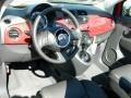 Rosso Brillante (Red) - 500 c cabrio Lounge Photo No. 6