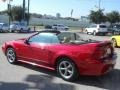 2000 Laser Red Metallic Ford Mustang V6 Convertible  photo #19