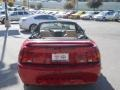 2000 Laser Red Metallic Ford Mustang V6 Convertible  photo #20