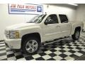 2012 White Diamond Tricoat Chevrolet Silverado 1500 LTZ Crew Cab 4x4  photo #1