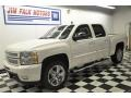 2012 White Diamond Tricoat Chevrolet Silverado 1500 LTZ Crew Cab 4x4  photo #23