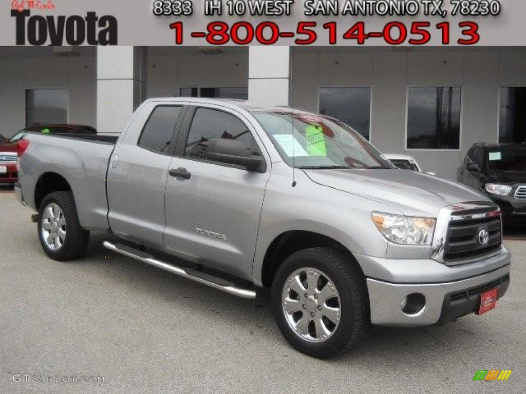 2011 Tundra Double Cab - Silver Sky Metallic / Graphite Gray photo #1
