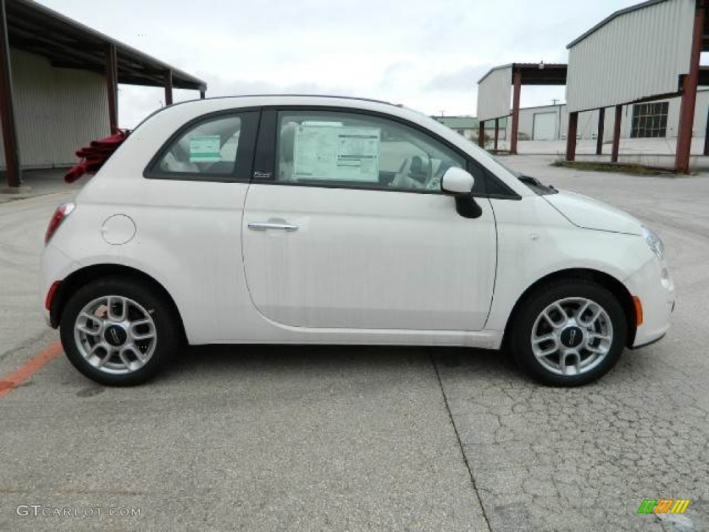 bianco white 2012 fiat 500 c cabrio pop exterior photo 58127621. Black Bedroom Furniture Sets. Home Design Ideas