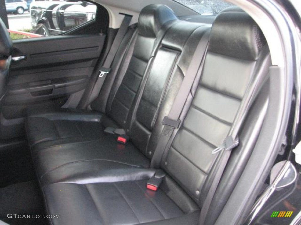Dark Slate Gray Interior 2008 Dodge Charger Police Package