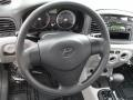 Gray Steering Wheel Photo for 2009 Hyundai Accent #58133600