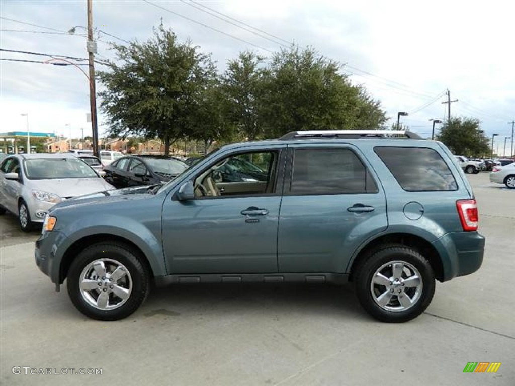 steel blue metallic 2012 ford escape limited v6 exterior
