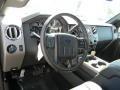 2012 Sterling Grey Metallic Ford F250 Super Duty Lariat Crew Cab 4x4  photo #7