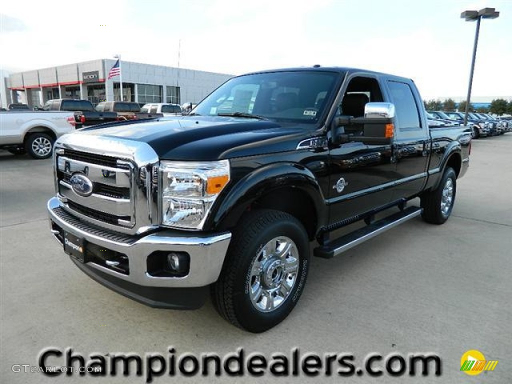 Black Ford F250 Super Duty