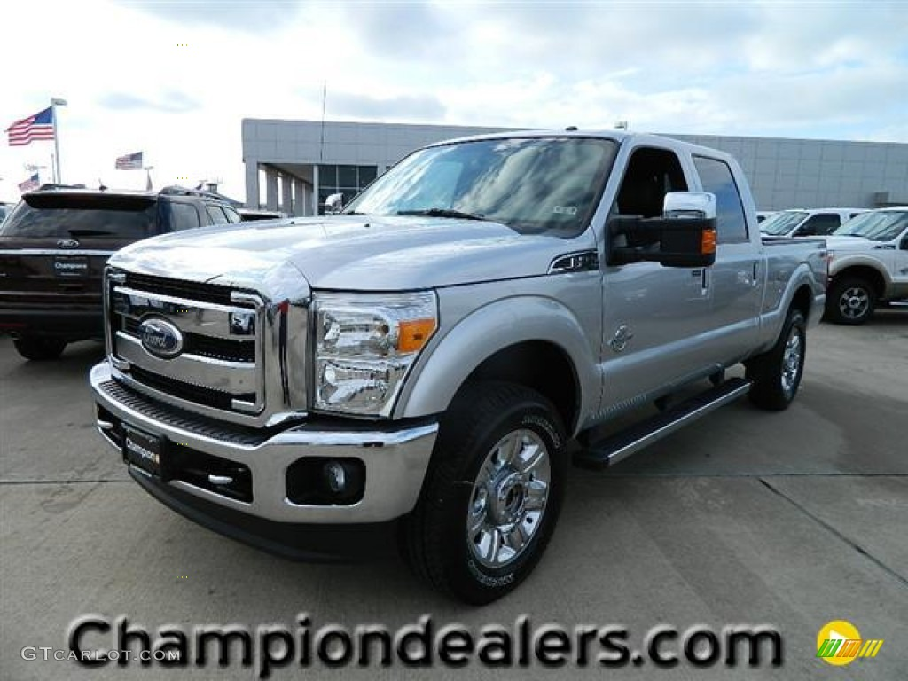 Ingot Silver Metallic Ford F250 Super Duty