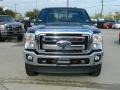 2012 Black Ford F250 Super Duty Lariat Crew Cab 4x4  photo #2
