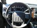 2012 Black Ford F250 Super Duty Lariat Crew Cab 4x4  photo #8