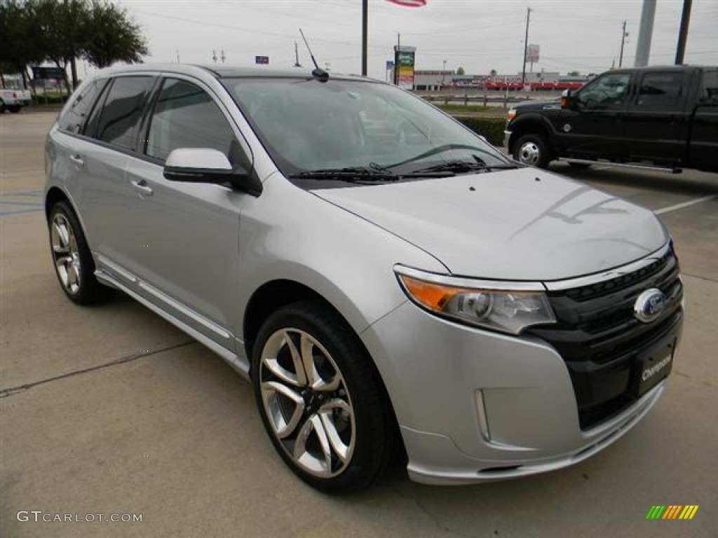 ingot silver metallic 2012 ford edge sport exterior photo 58154960. Black Bedroom Furniture Sets. Home Design Ideas