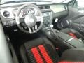 2012 Ford Mustang Charcoal Black/Red Interior Prime Interior Photo