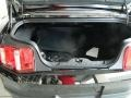 2012 Ford Mustang Charcoal Black/Black Interior Trunk Photo
