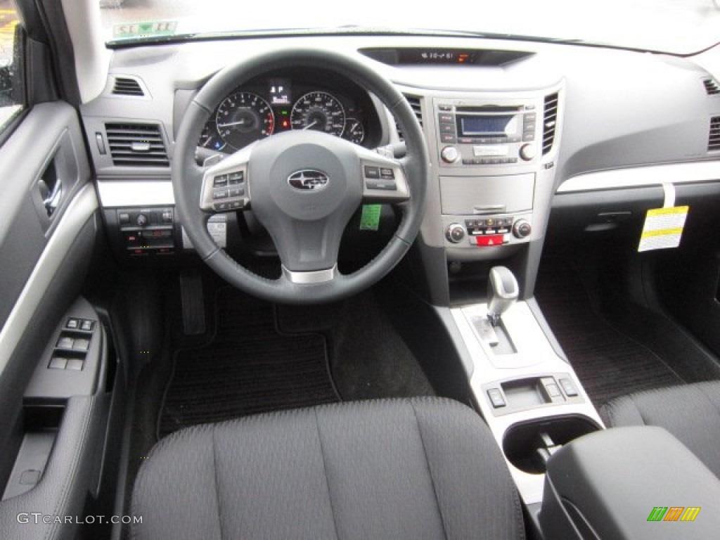 Off Black Interior 2012 Subaru Legacy 2.5i Premium Photo #58160426 ...