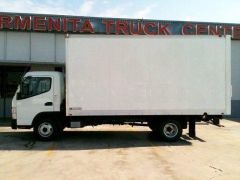 2012 Mitsubishi Fuso Canter FE125 Regular Cab Moving Truck Data
