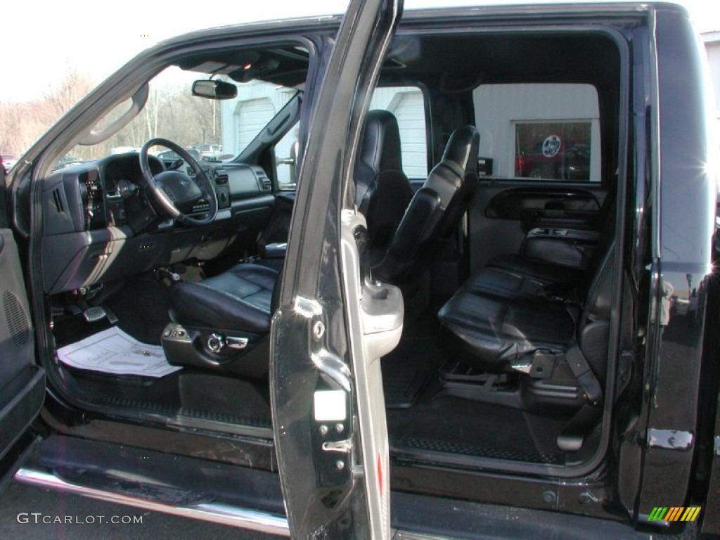 2005 Ford F350 Super Duty Harley Davidson F 850 Black Grey Interior Rh Gtcarlot Com