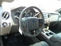 2011 Ford F250 Super Duty Black Two Tone Leather Interior Dashboard Photo