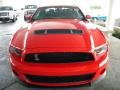 2011 Race Red Ford Mustang Shelby GT500 SVT Performance Package Coupe  photo #6