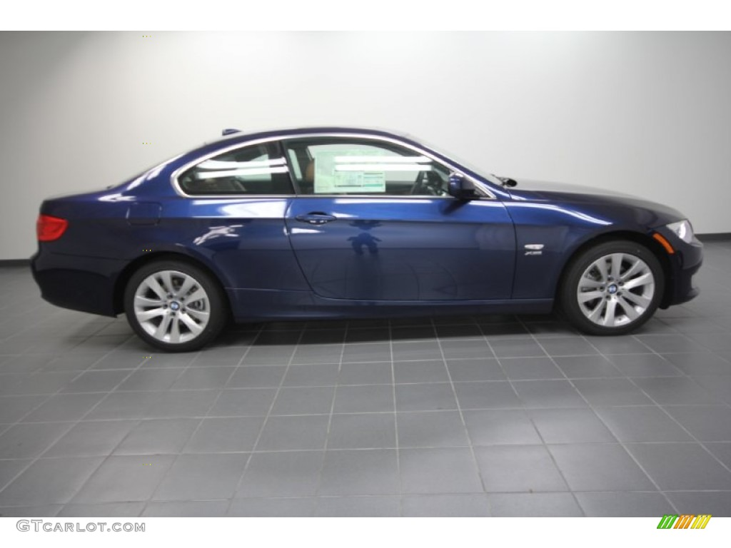 deep sea blue metallic 2012 bmw 3 series 328i xdrive coupe exterior photo 58180139. Black Bedroom Furniture Sets. Home Design Ideas