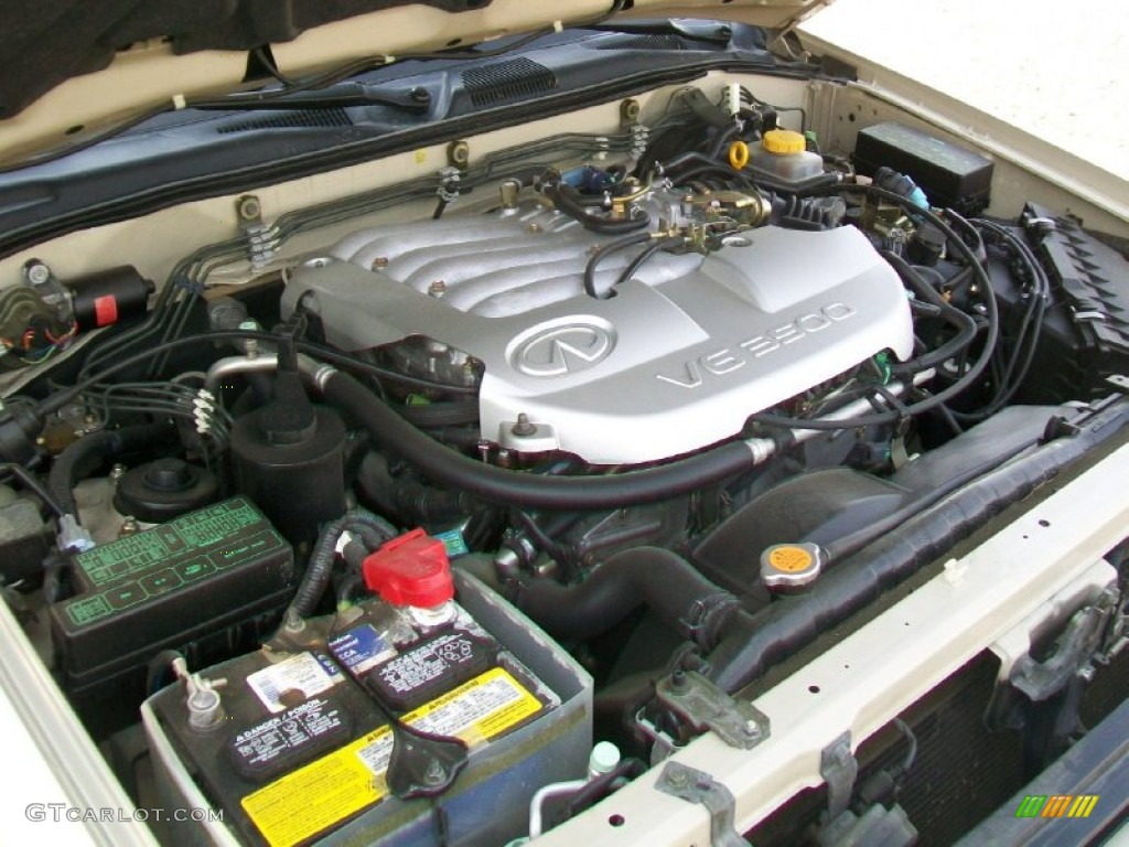 2001 Infiniti Qx4 Standard Qx4 Model 3 5 Liter Dohc 24