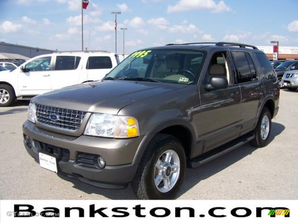 2003 mineral grey metallic ford explorer xlt 57872455 gtcarlot