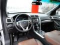 Pecan/Charcoal Prime Interior Photo for 2011 Ford Explorer #58187737