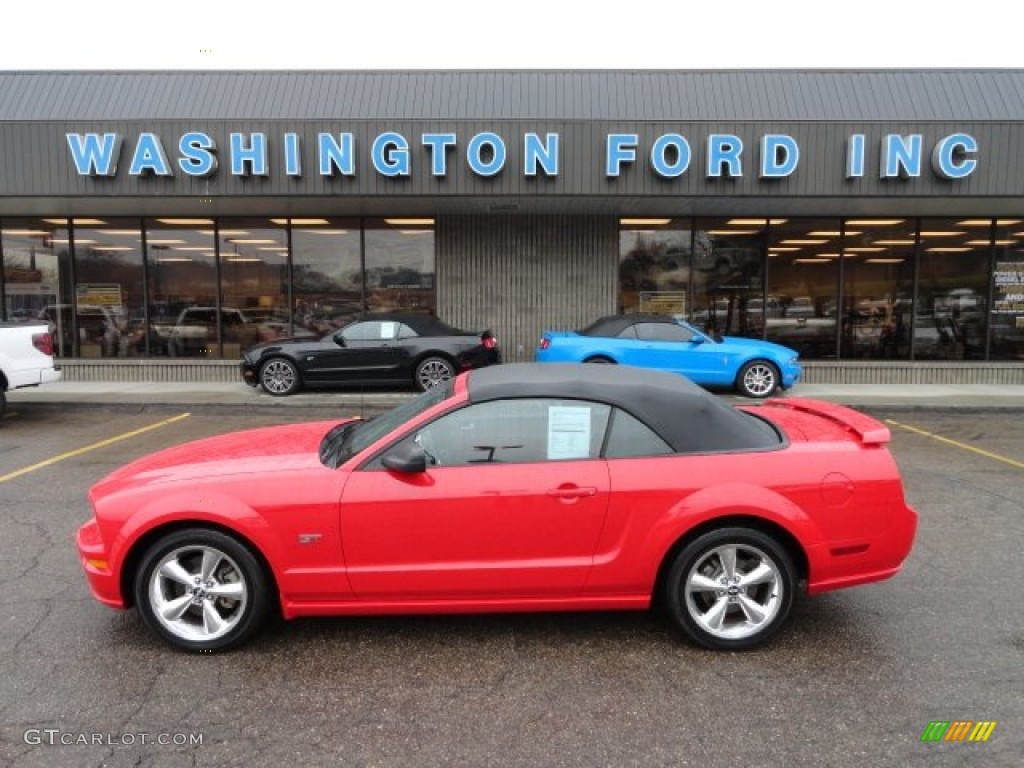 Torch Red Ford Mustang Gt Premium Convertible