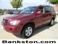 Salsa Red Pearl 2005 Toyota Highlander Gallery