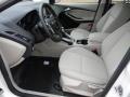 2012 White Platinum Tricoat Metallic Ford Focus SEL 5-Door  photo #9