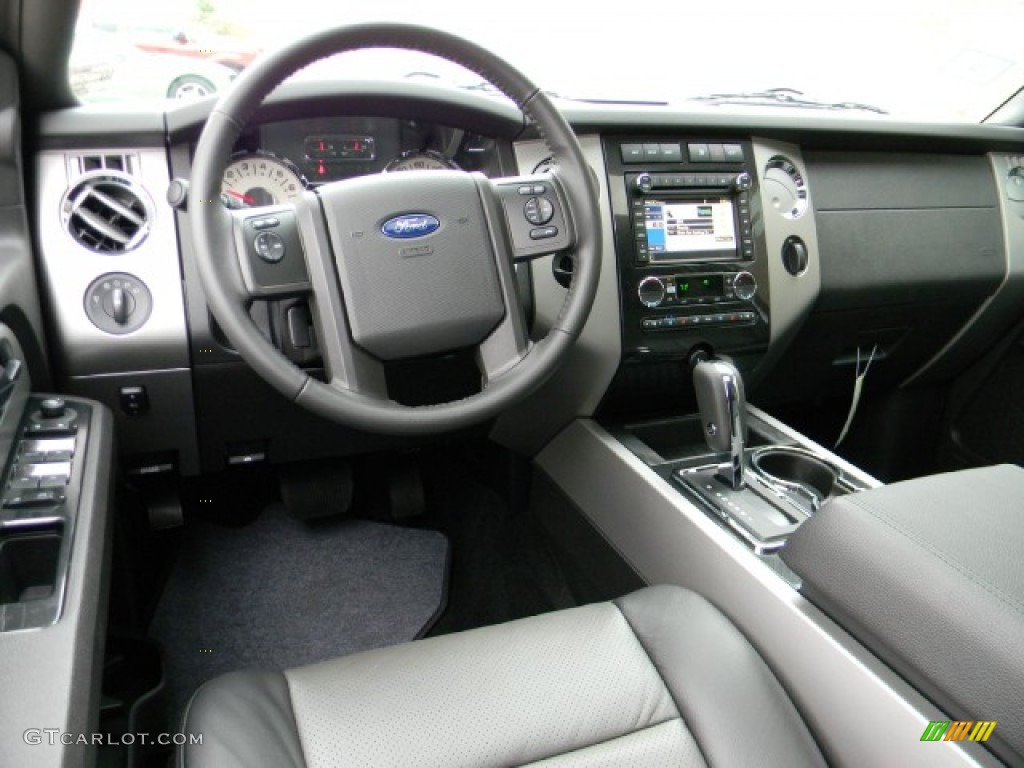 Charcoal Black Silver Smoke Interior 2012 Ford Expedition Xlt Sport Photo 58195635
