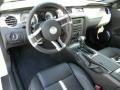 2012 Ford Mustang Charcoal Black/Cashmere Interior Prime Interior Photo