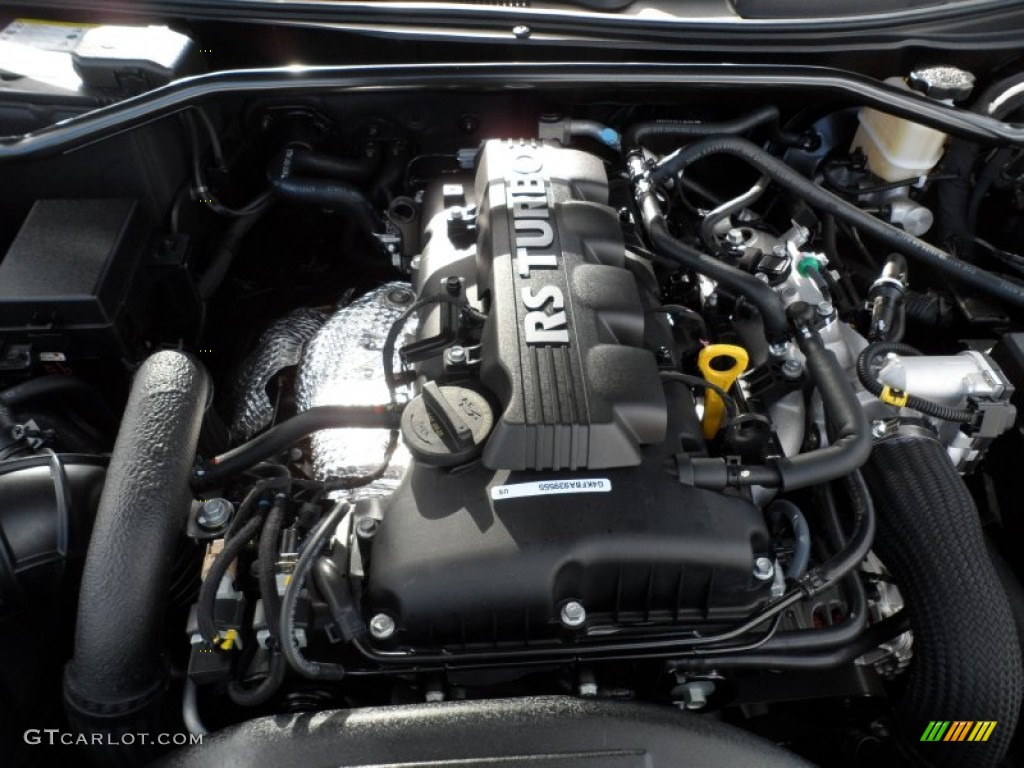 Amazing 2012 Hyundai Genesis Coupe 2.0T Premium Engine Photos