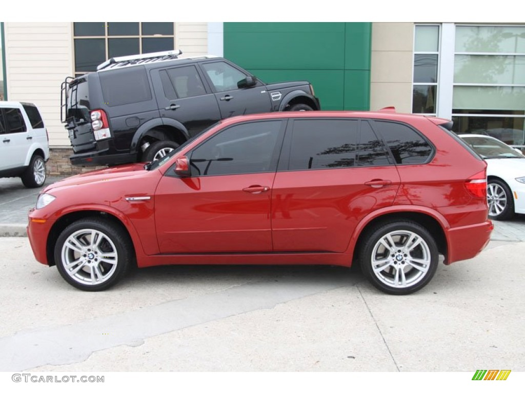 Melbourne Red Metallic 2010 BMW X5 M Standard X5 M Model Exterior ...